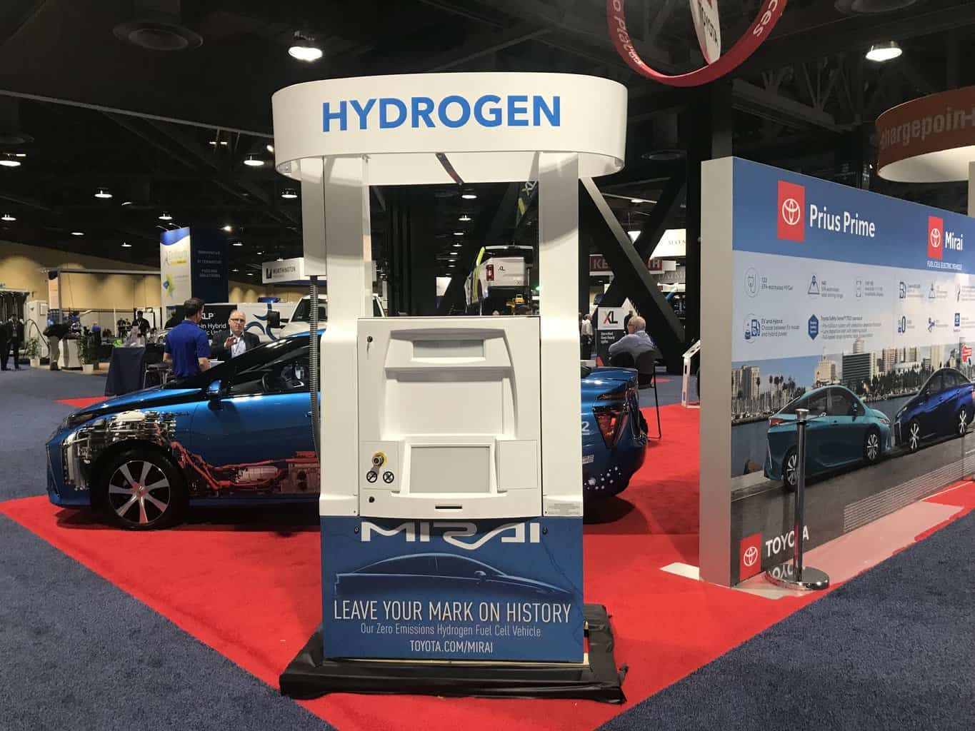 Hydrogen and electric forces are locked in a battle for the