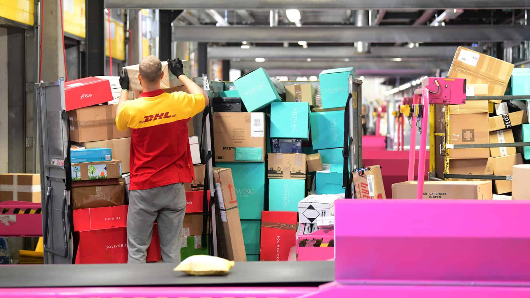 DHL aims to provide accurate delivery time forecasts for customers (Photo: DHL)